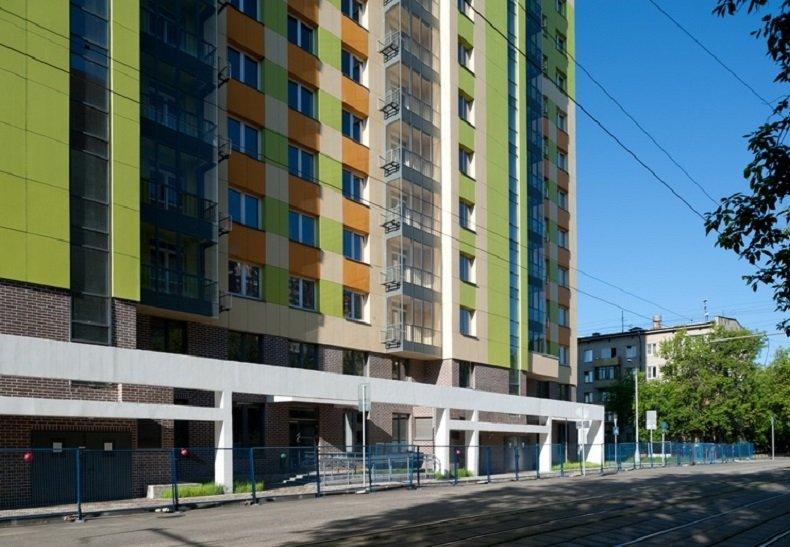 Новостройка на калитниковской улице