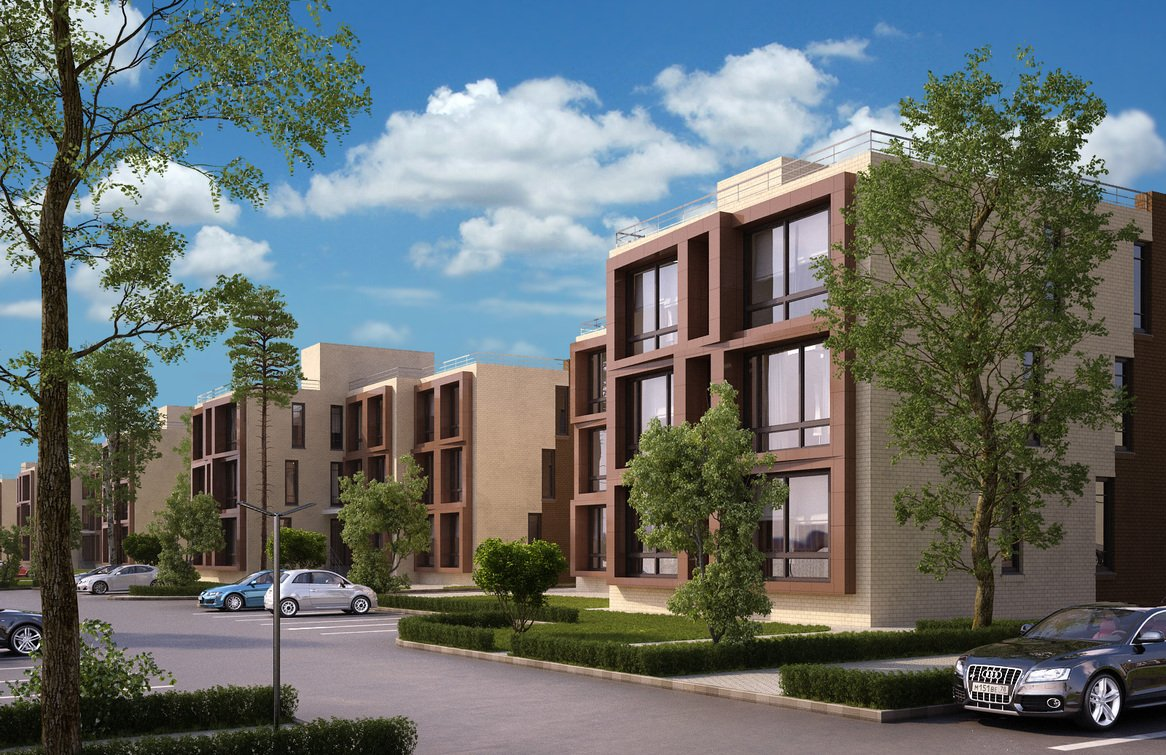проекты многоквартирных домов 5 этажей фото