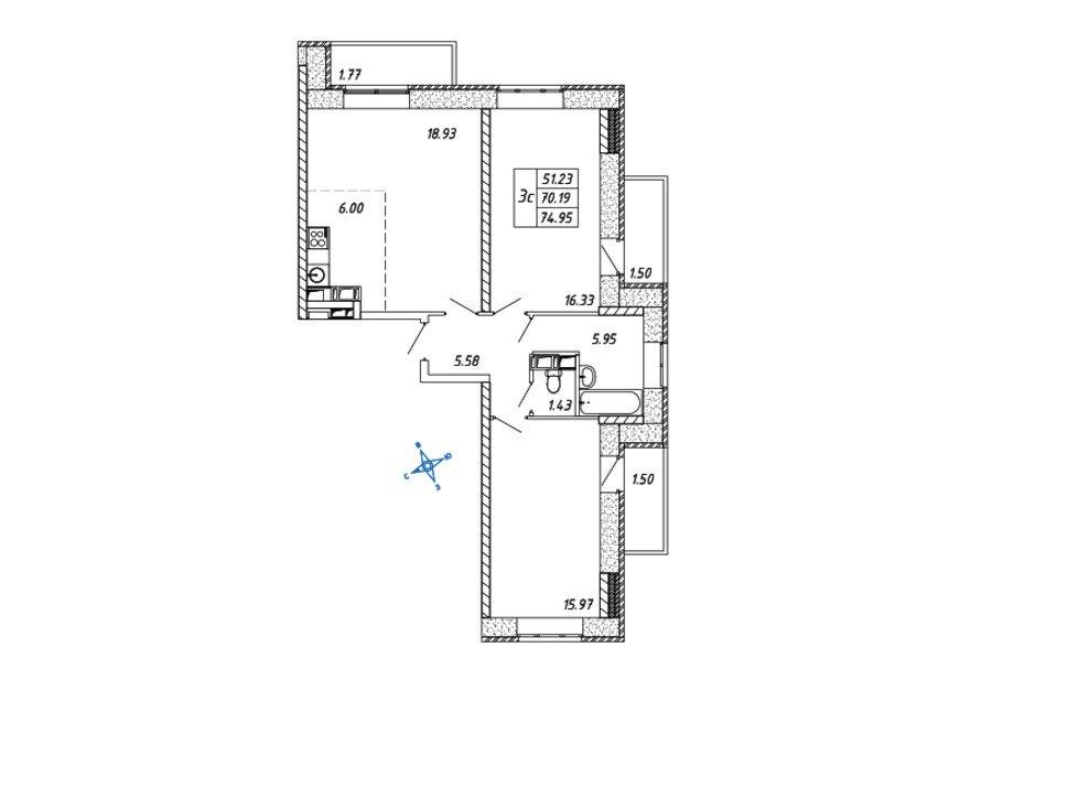 Купить квартиру в Дзержинском Московской области